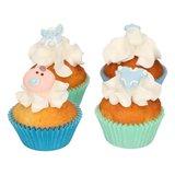 Funcakes Suikerdecoratie Baby Jongen Set/8_