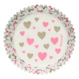 FunCakes Baking Cups -Hearts- pk/48_