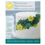 Wilton How To Pipe Simple Icing Flowers Kit_