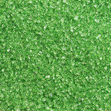 Decora Glittered Sugar Green 100g_