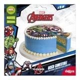 Dekora Marvel Avengers Superhelden Taartprint Ø 16cm_
