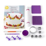 Wilton How To Decorate Fondant Shapes & Cut-Outs Kit_