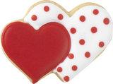 Birkmann Double Heart cookie cutter 6,5cm_