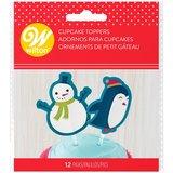 Wilton Fun Pix Snowman & Penguin pk/12_