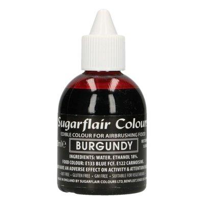 Sugarflair Airbrush Kleurstof Burgundy Rood 60ml