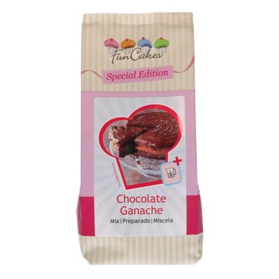 Funcakes Special Edition Mix voor Chocolade Ganache 400gr
