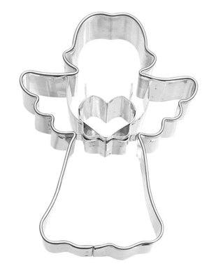 Birkmann Angel With Heart Cookie Cutter 7 cm