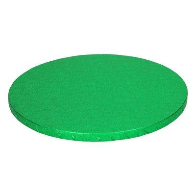 FunCakes Cake Drum Rond diameter -25cm -Groen