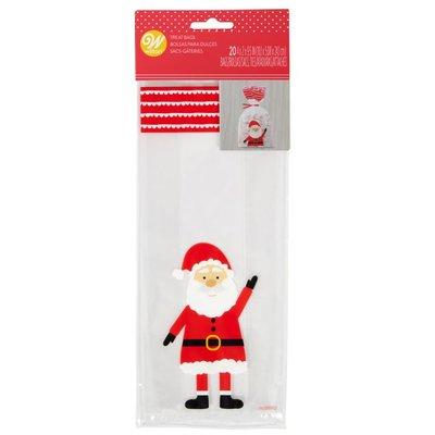 Wilton Treat Bags Santa Claus pk/20