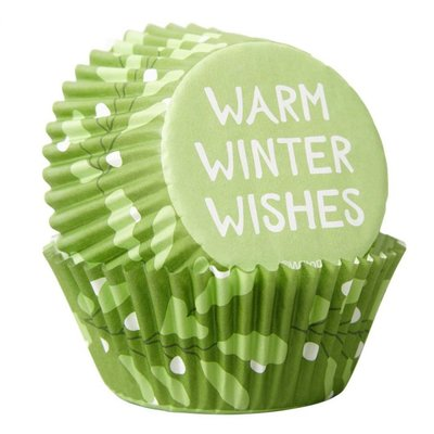 Wilton Baking Cups Warm Winter Wishes PK/75