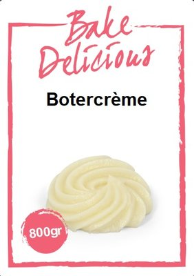 Bake Delicious Botercrème Mix 800g