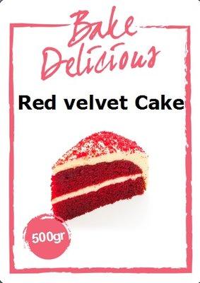 Bake Delicious Red Velvet Cake Mix 500g