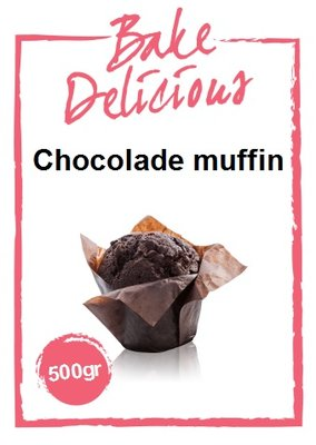 Bake Delicious Chocolade Muffin Mix 500g