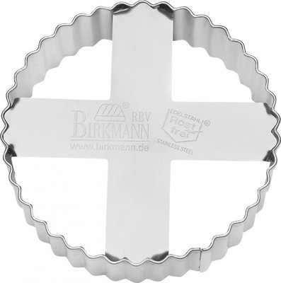Birkmann Cookie Cutter Circle - Ribbed Ø 8 cm