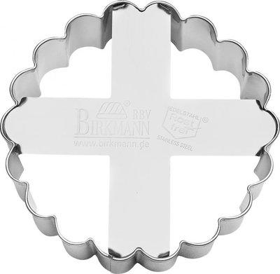 Birkmann Cookie Cutter Circle - Fluted Ø 8 cm