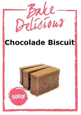Bake Delicious Chocolade Biscuit Mix 500g
