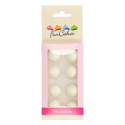 Funcakes Choco Balls Wit Set/8