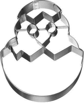Birkmann Chick in Egg Cookie Cutter 7,5cm