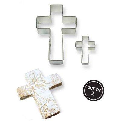 PME Koekjes Uitsteker Kruis set/2
