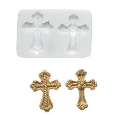 Silikomart Sugarflex Mould-Cross