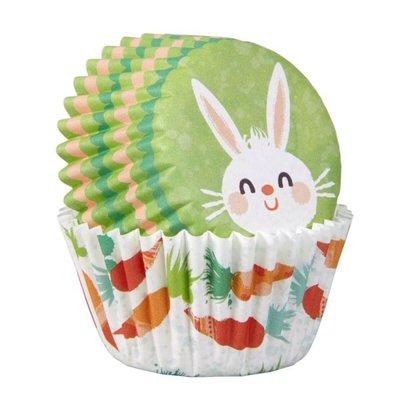 Wilton Mini Baking Cups Easter Bunny pk/100