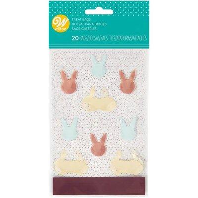 Wilton Mini Treat Bags Happy Easter pk/20