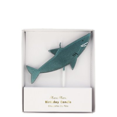 Meri Meri Shark Candle