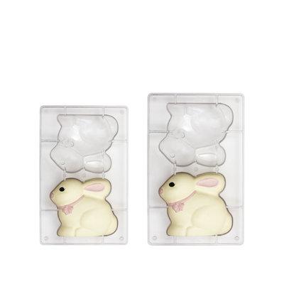 Decora Bunny Polycarbonate Mold 94x80mm
