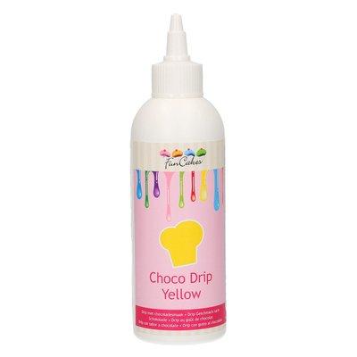 Funcakes Choco Drip Yellow 180g
