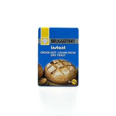 Bruggeman Instant Droge Gist 5x11gr