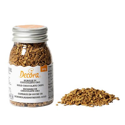 Decora Gold Chocolate Chips 90gr