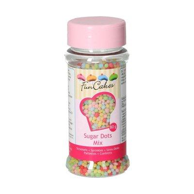 FunCakes Sugar Dots -Mix- 80g