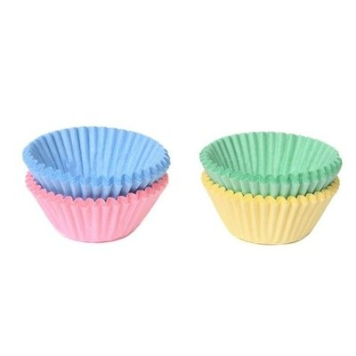 House of Marie Chocolade Baking Cups Pastel Assorti Set/100