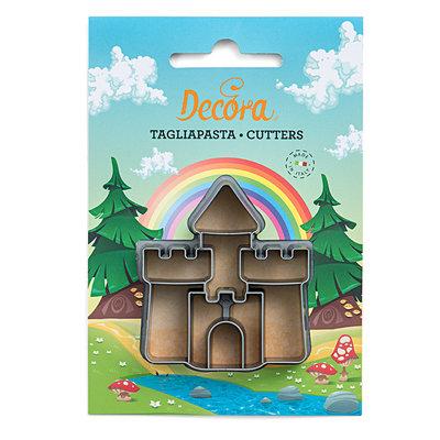 Decora Castle Plastic Cookie Cutter