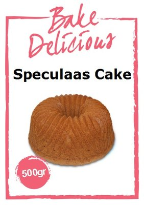 Bake Delicious Mix Voor Speculaas Cake 500g