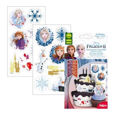 Dekora Frozen II Cutting Edible Decoration