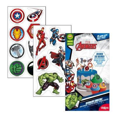 Dekora Avengers Cutting Edible Decoration