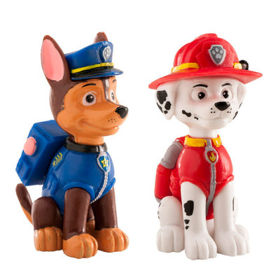 Dekora Taart Topper Paw Patrol Marshall & Chase