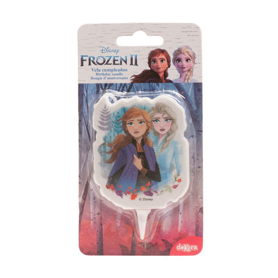 Dekora Birthday Candle Frozen 7,5cm