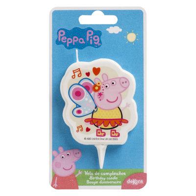 Dekora Birthday Candle Peppa Pig 7,5cm