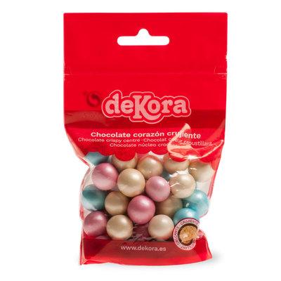 Dekora Chocolate Crispy Bite Pearlescent 100g