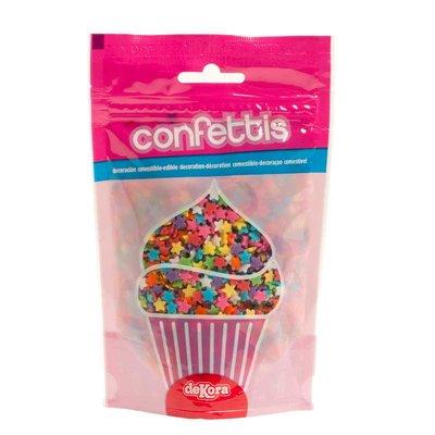 Dekora Stars Confetti Arti Colors 100g