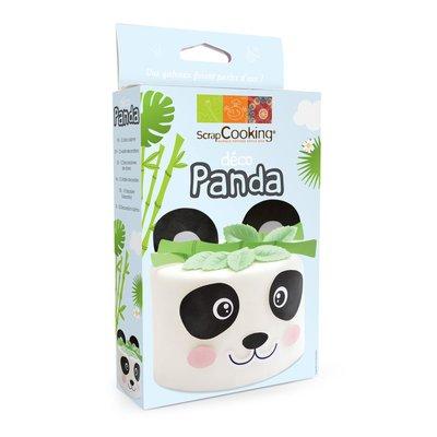 Scrapcooking Wafer Decoration Panda Set/15