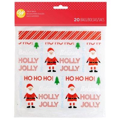Wilton Resealable Bags Holly Jolly pk/20