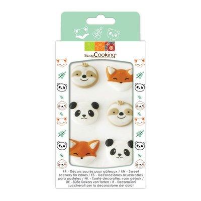 Scrapcooking Suikerdecoratie Sweet Animals Set/6