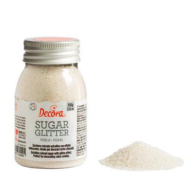 Decora Glittered Sugar Pearl 100g