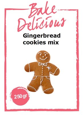 Bake Delicious Gingerbread Cookies 250gr