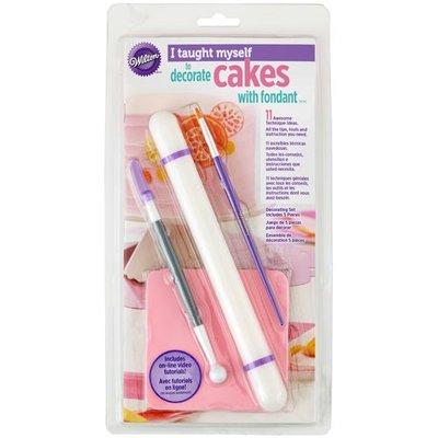 Wilton I Taught Myself® Fondant Cakes