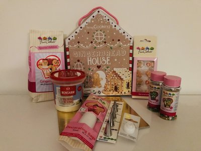 Kerstbox Gingerbread House