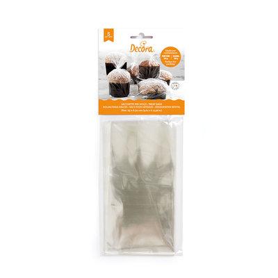 Decora Transparante Zakken- Food Bags 25x34cm- 5st